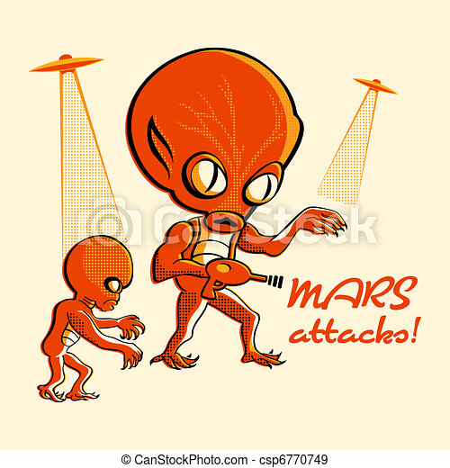Mars attacks! - csp6770749