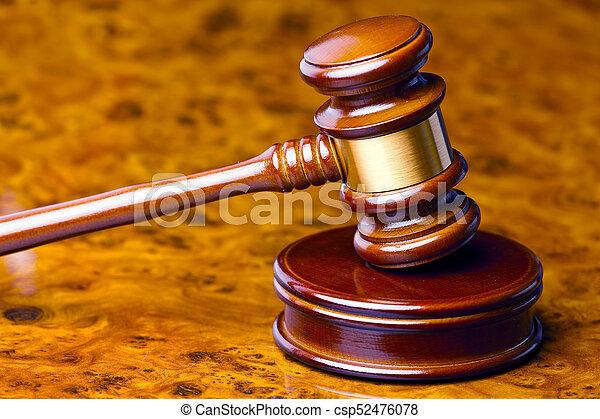 marteau, juge, tribunal - csp52476078
