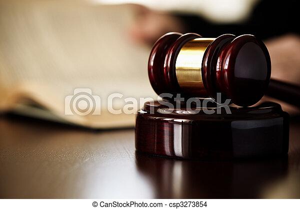 marteau, juges - csp3273854