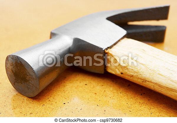 marteau, table. - csp9730682