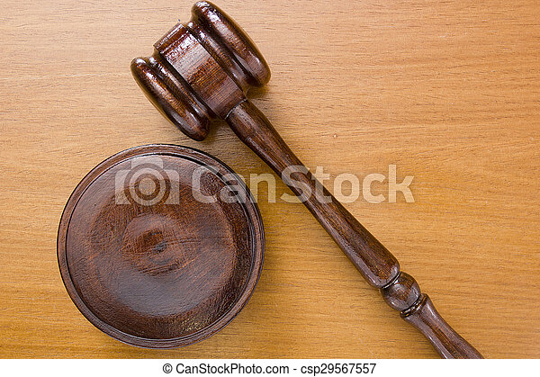 marteau, utilisé, tribunal - csp29567557