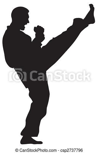 Martial Art - csp2737796