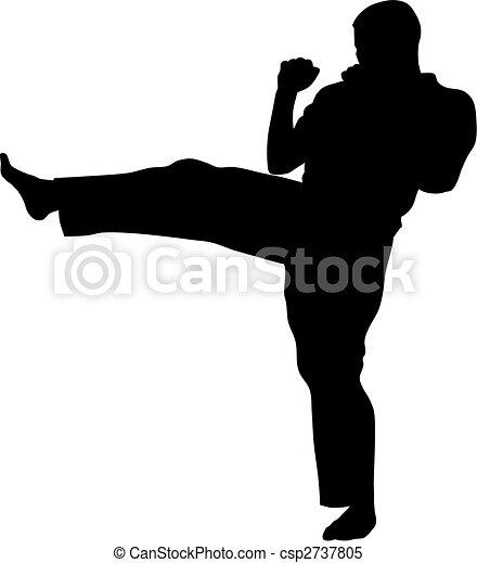 Martial Art - csp2737805