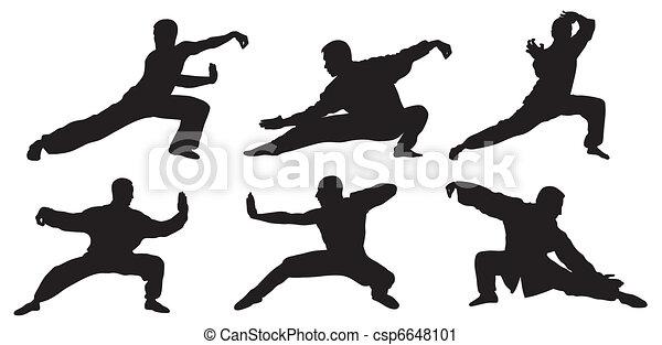 Martial art - csp6648101