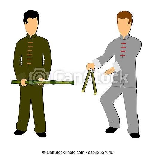 martial arts - csp22557646