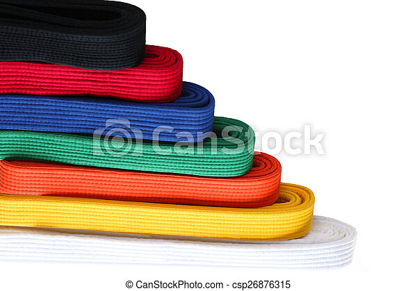 Martial Belts - csp26876315
