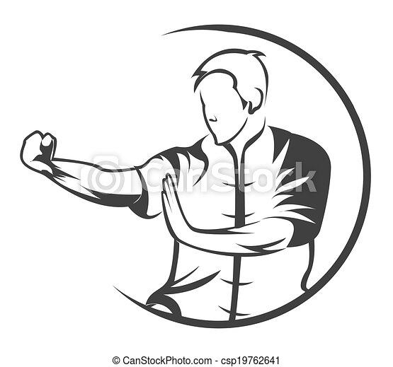martial, symbole, art - csp19762641