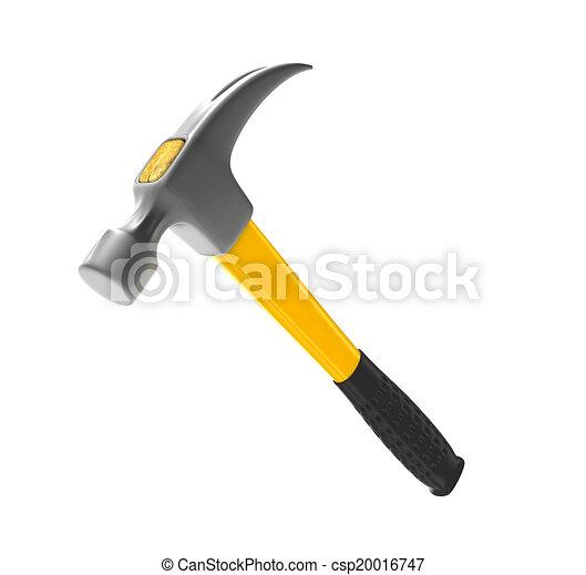 martillo, amarillo - csp20016747