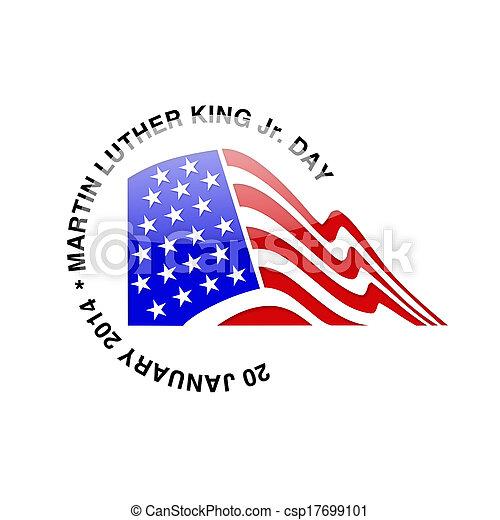Martin Luther King Jr. Day - 20 Jan - csp17699101