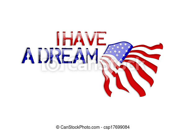 Martin Luther King Jr.i have a drea - csp17699084