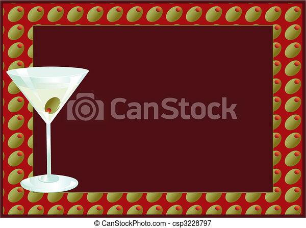 Martini Invite - csp3228797