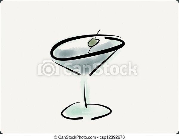 Martini - csp12392670