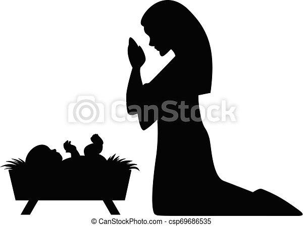 mary joseph and baby Jesus