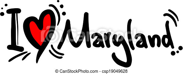 maryland, amore - csp19049628