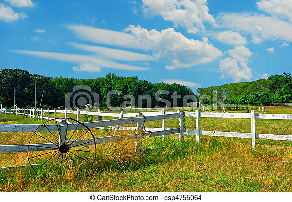 Maryland Horse Stable - csp4755064