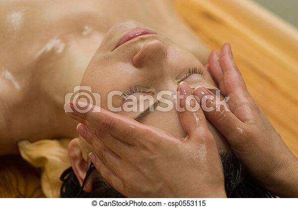 masage, ayurvedic - csp0553115