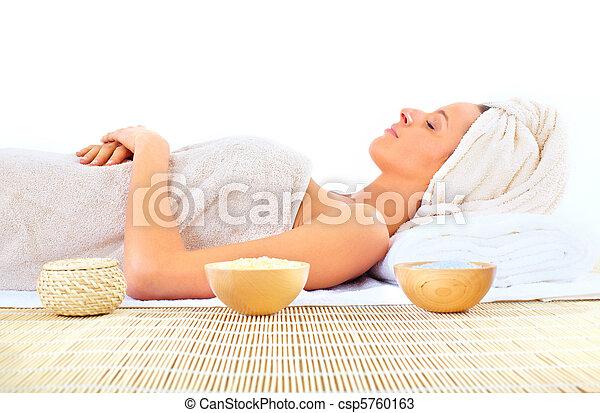 masage, spa - csp5760163