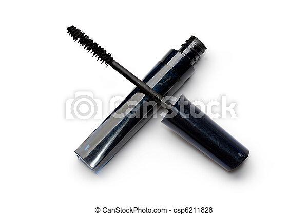 Mascara isolated on white - csp6211828