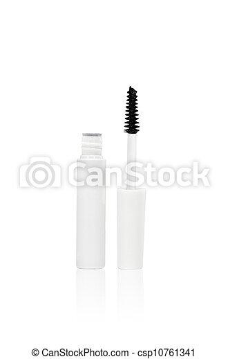 Mascara isolated on white - csp10761341