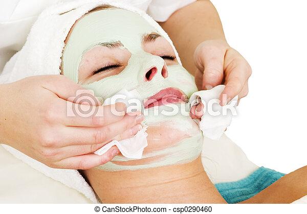 maschera, dettaglio, facciale - csp0290460