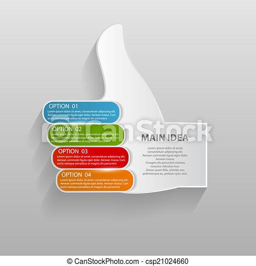 mascherine, vettore, illustration., affari, infographic - csp21024660
