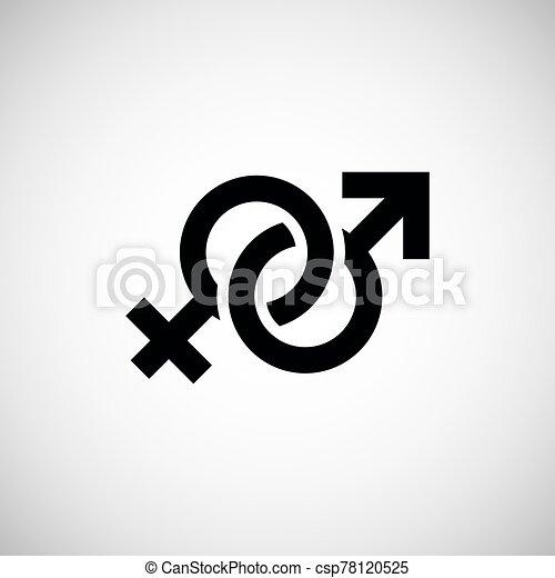 &, maschio, simbolo femmina - csp78120525