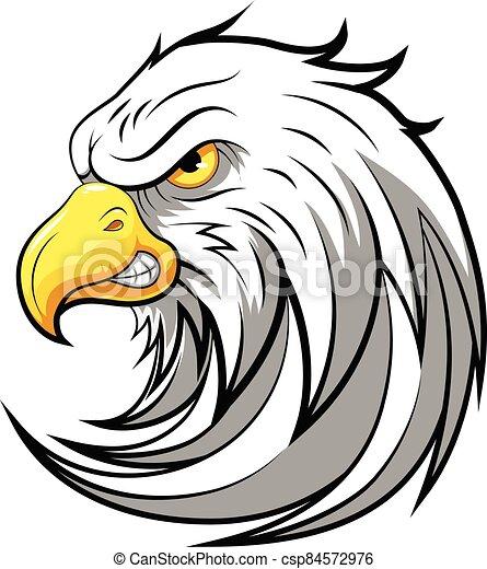Mascot Head of an Eagle - csp84572976