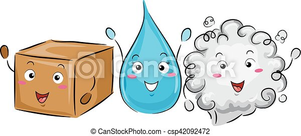 mascot science solid liquid gas colorful illustration of a rh canstockphoto com solid liquid gas clipart black and white solid liquid gas clipart black and white