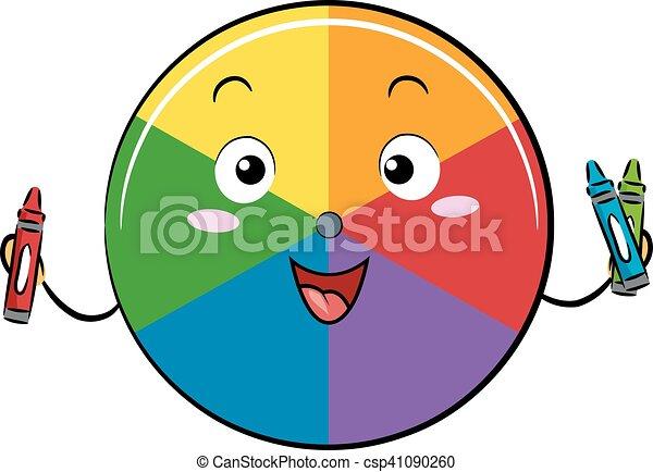 Mascot Spectrum Color Wheel