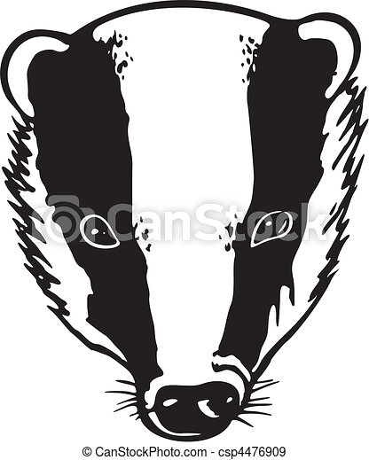 mascots eps vectors search clip art illustration drawings and rh canstockphoto com badger clipart free badger clip art free
