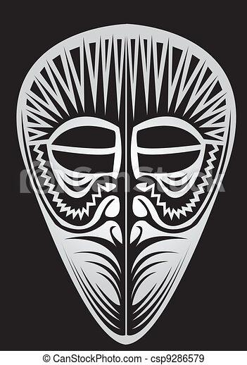 Máscara. - csp9286579