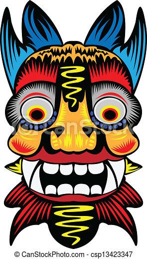 Máscara. - csp13423347