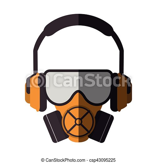 Mask headphone and glasses design - csp43095225