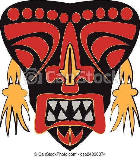 Máscara. - csp24036074