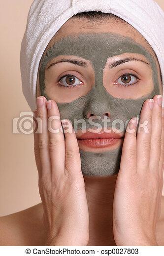 Masked Beauty - csp0027803