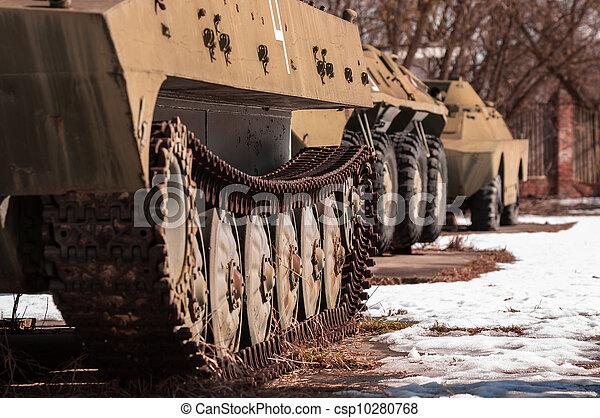 maskin, gammal, krig, utomhus - csp10280768