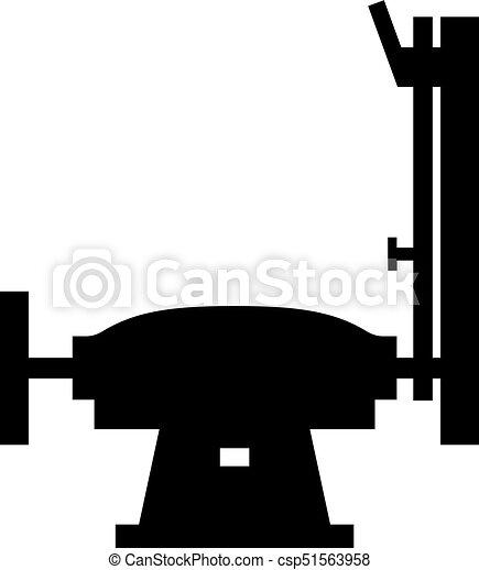 maskin, oxeltand - csp51563958