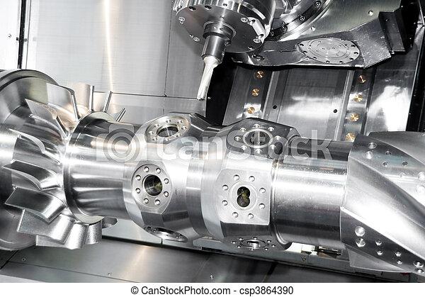maskine værktøj, cnc - csp3864390