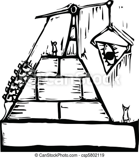masonic pyramid construction a construction of a masonic eps rh canstockphoto com masonic clip art downloads masonic clipart images