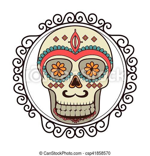 Masque Mexicain Crâne Culture