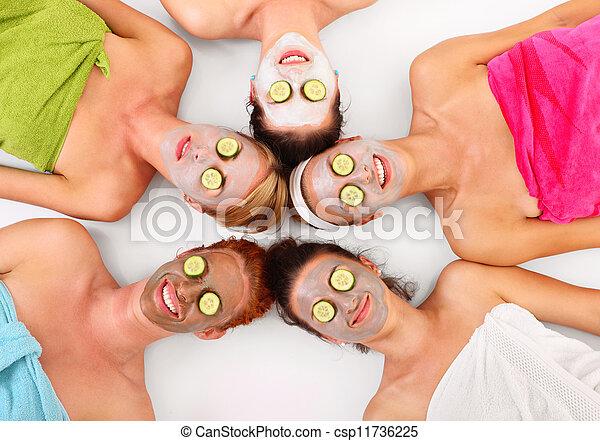 masques faciaux - csp11736225