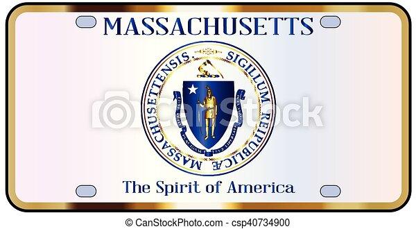 Old school Massachusetts. old license plates ...