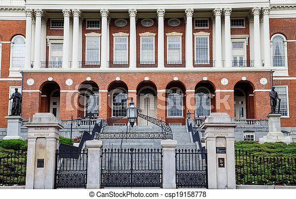 Massachusetts State House - csp19158778