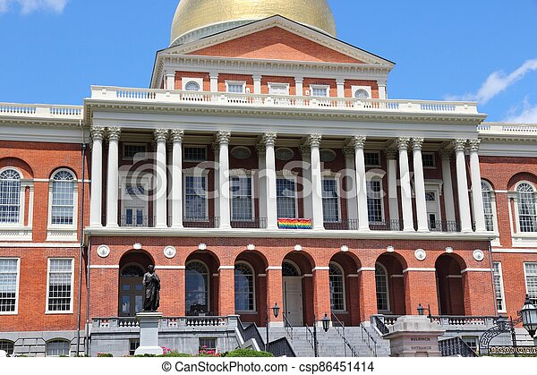 Massachusetts State House - csp86451414