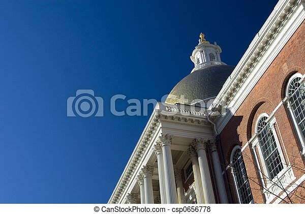 Massachusetts State House - csp0656778