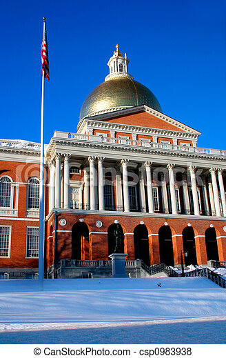 Massachusetts State House - csp0983938