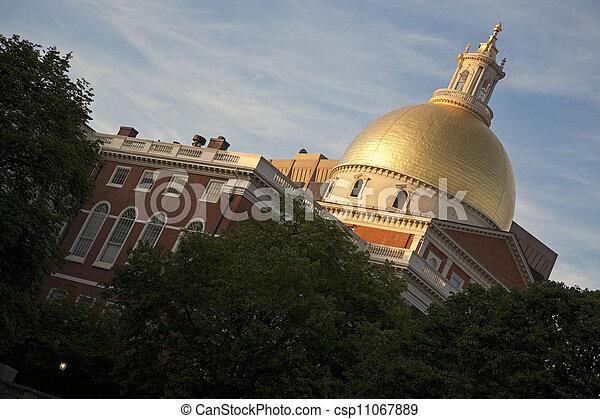 Massachusetts State House - csp11067889