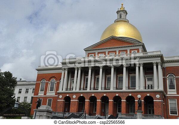 Massachusetts State House - csp22565566