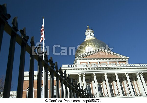 Massachusetts State House - csp0656774