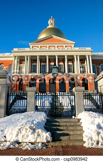 Massachusetts State House - csp0983942